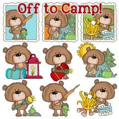 Barton Bear Goes to Camp