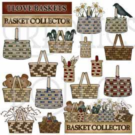 Basket Lover Clip Art