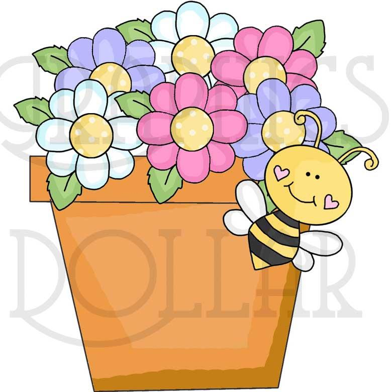 Bee-cause I Love You Clip Art