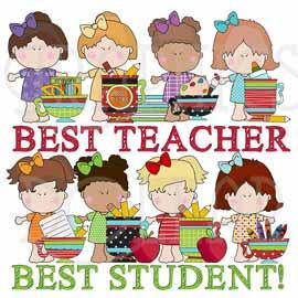 Best Teacher Exclusive Clip Art