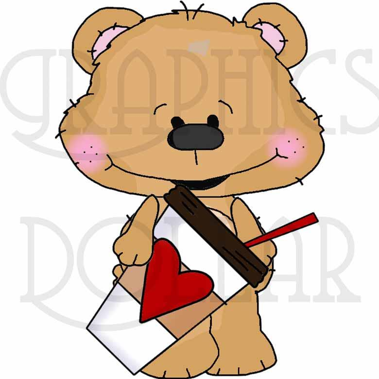 Coffee Date Bestie Bears - Exclusive Clip Art