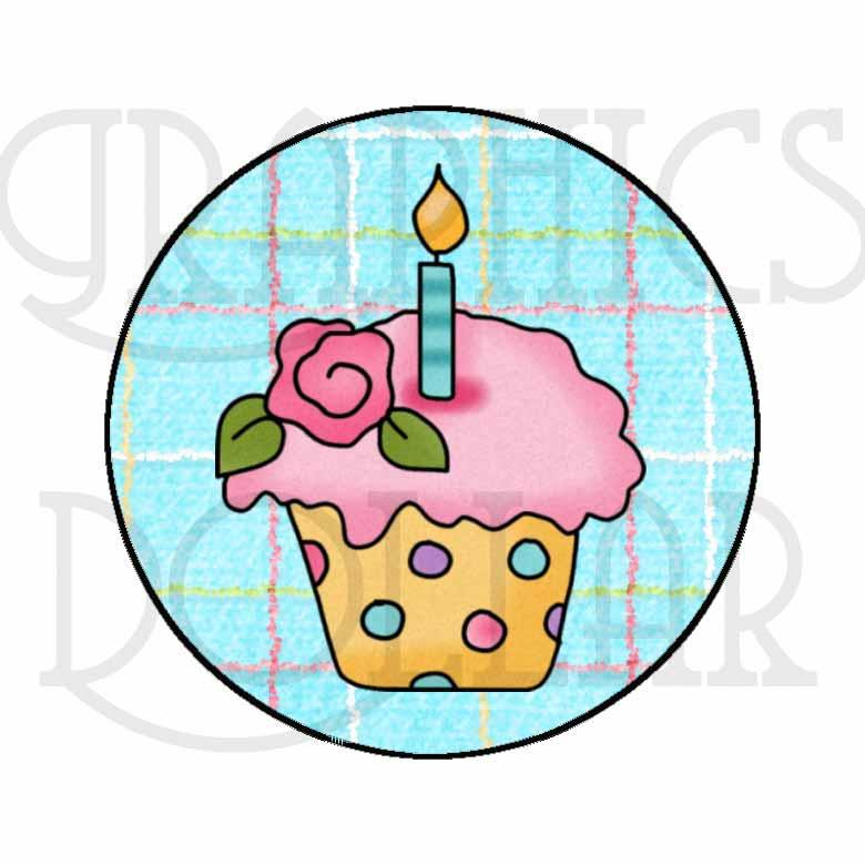 Birthday Mason Jar Clip Art