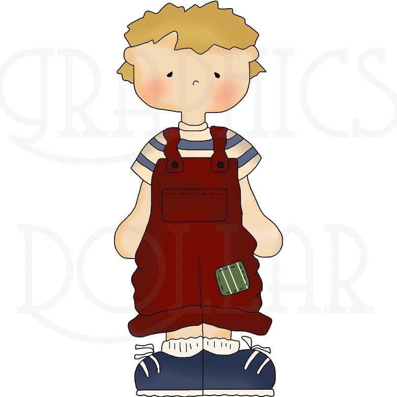 Country Kids Clip Art