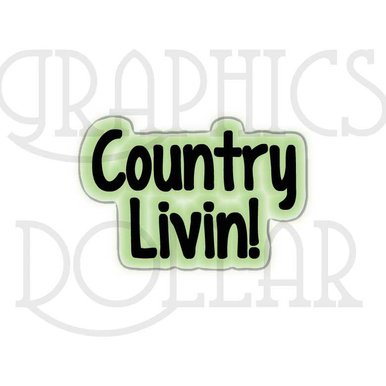 Country Living Clip Art