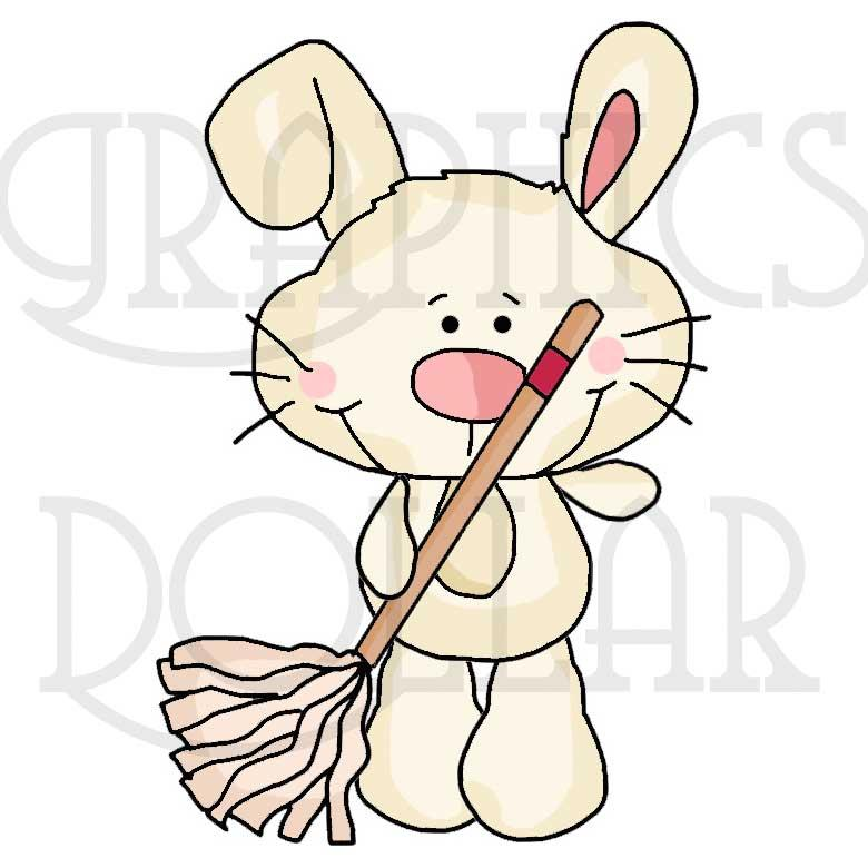 Dust Bunnies Clip Art