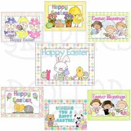 Easter Cards - Exclusive