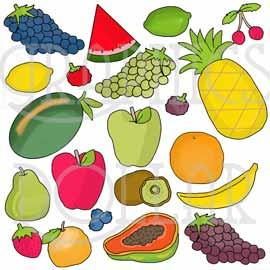 Fabulous Fruit Clip Art