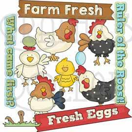Farm Fresh Clip Art