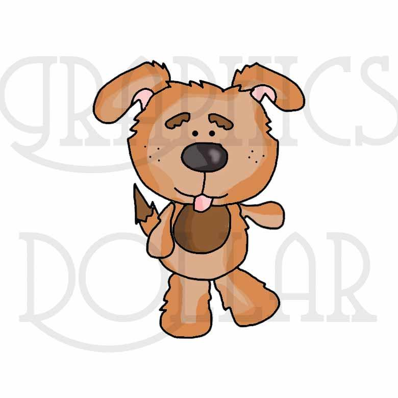 Fido and Puppy Accessories Clip Art
