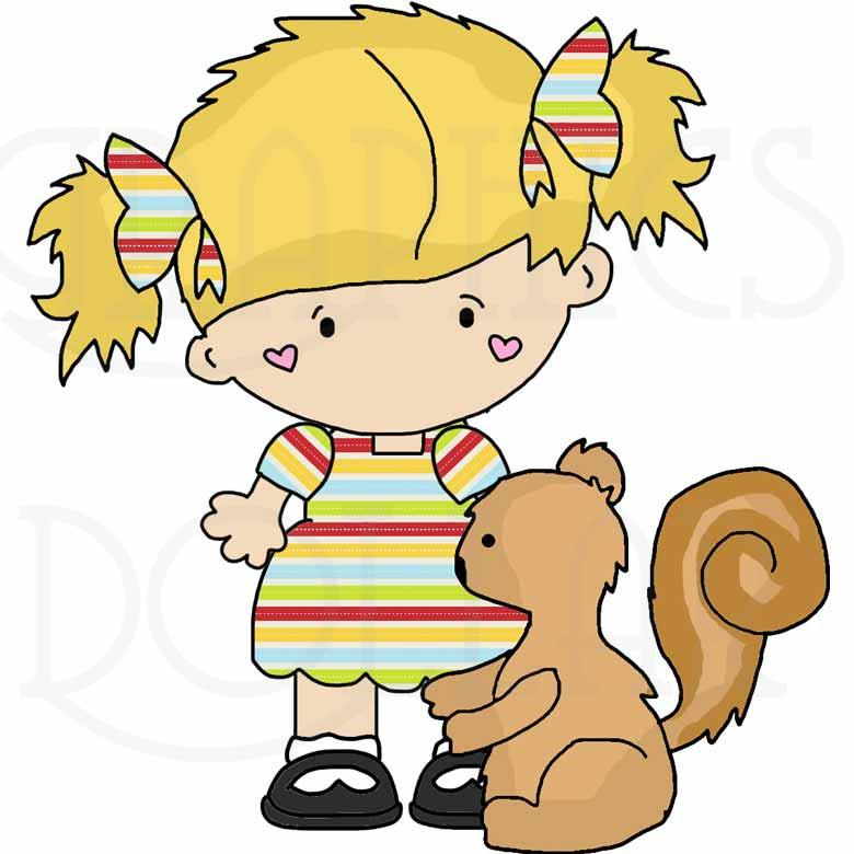 Forest Friends Clip Art