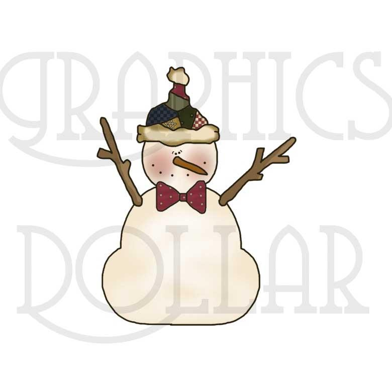 Frosty Friends Clip Art