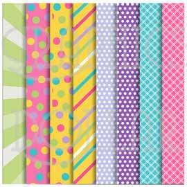 Girly Birthday Papers