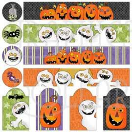 Halloween Treats Mason Jar Set
