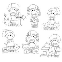 Hannah and Pals with Pets