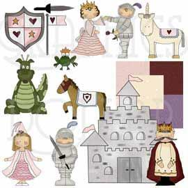 Happily Ever After Kingdom Clip Art