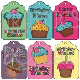 Happy Birthday Tags