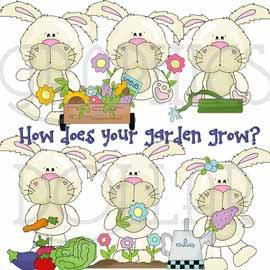 How Does Your Garden Grow Clip Art