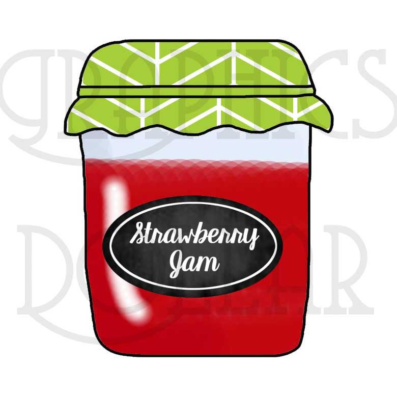 Jellies and Jams Clip Art