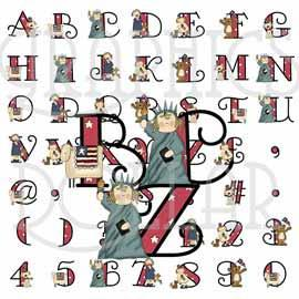 Land of Liberty Alphabet