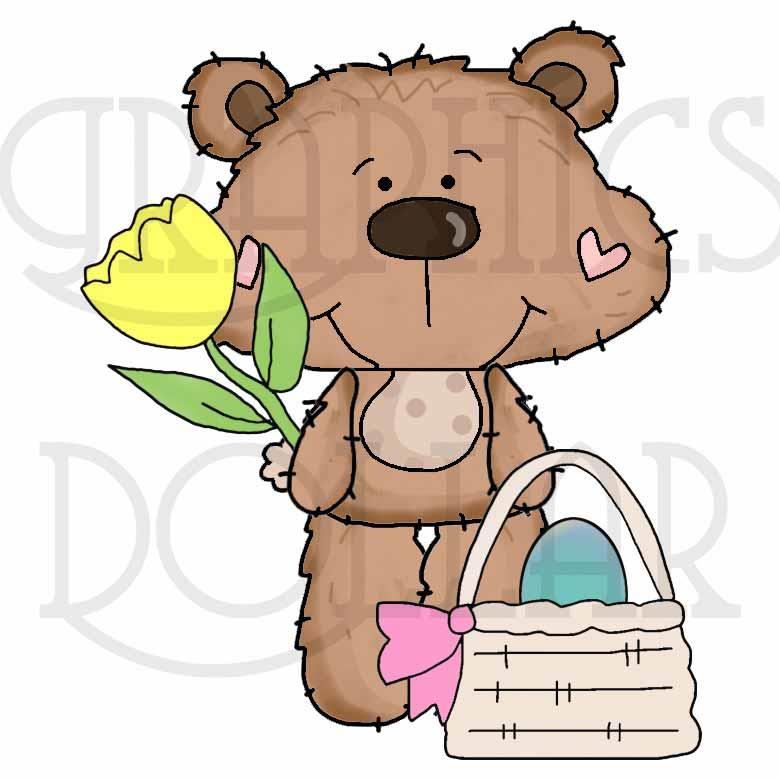 Little Dotty Loves Easter Clip Art