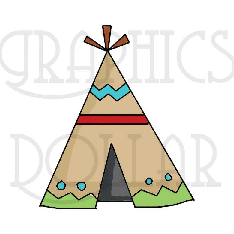 Little Indians Clip Art