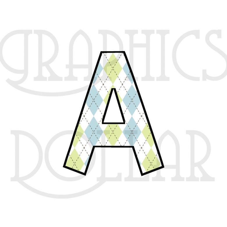 Little Sprouts Alphabet Clip Art