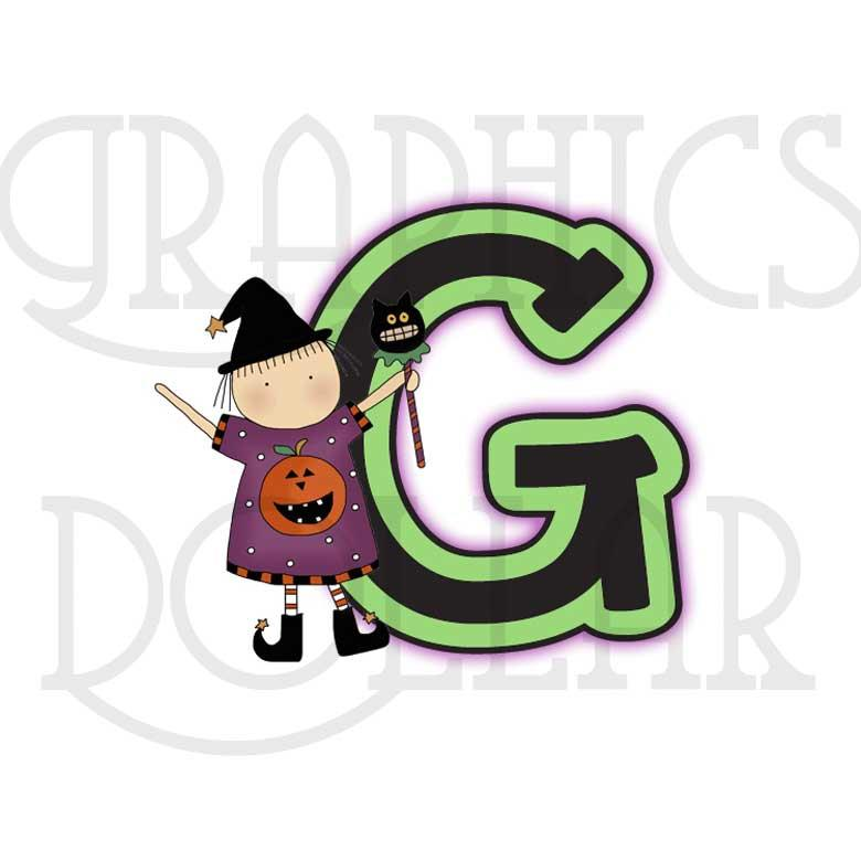 Little Witches Alphabet