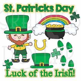 Luck of the Irish Clip Art