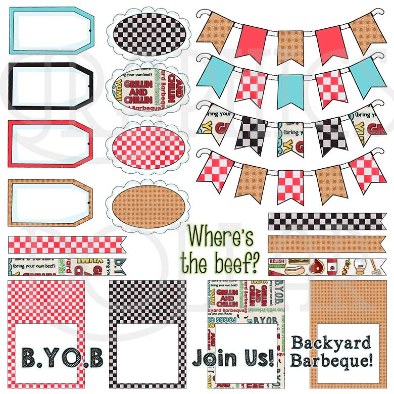 Backyard Barbeque Crafting