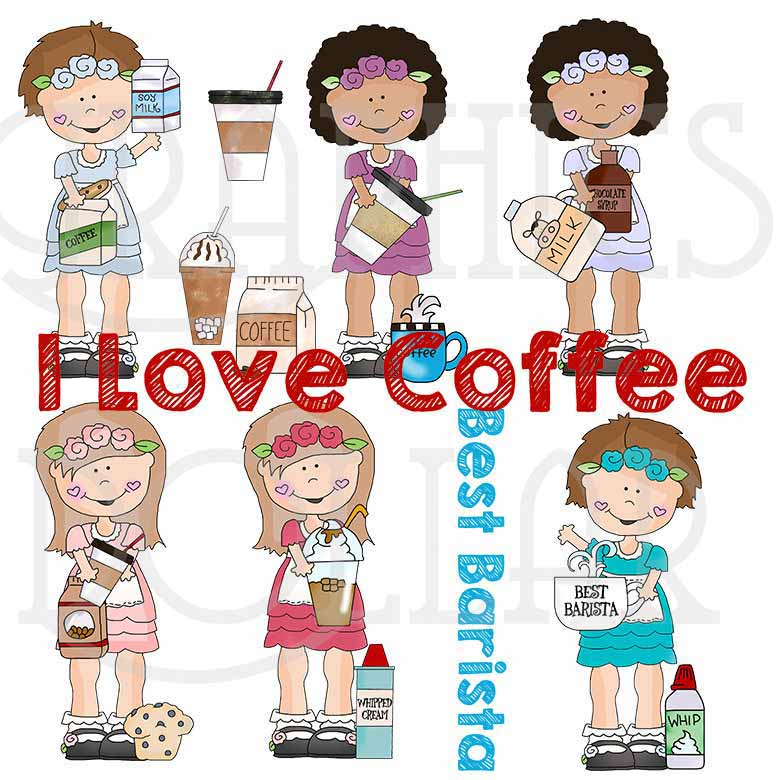 Best Barista Exclusive Clip Art