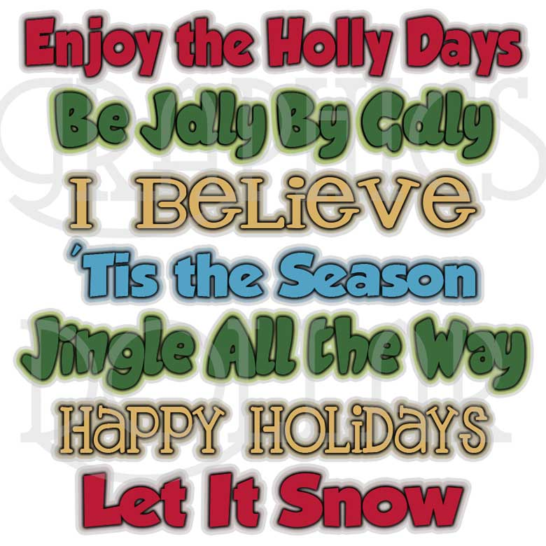 Christmas Season WordArt