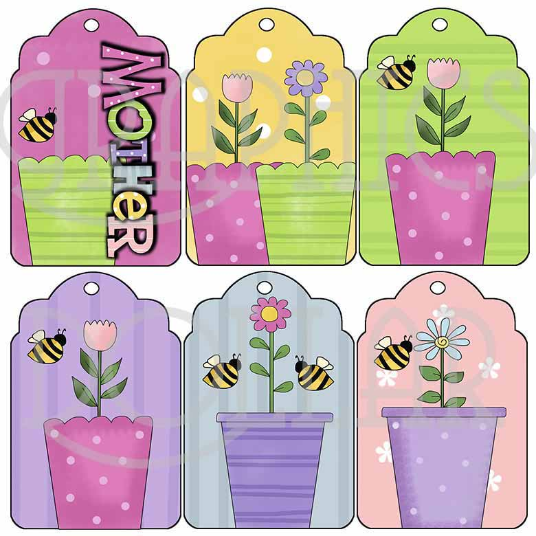 Flower Pot Tags