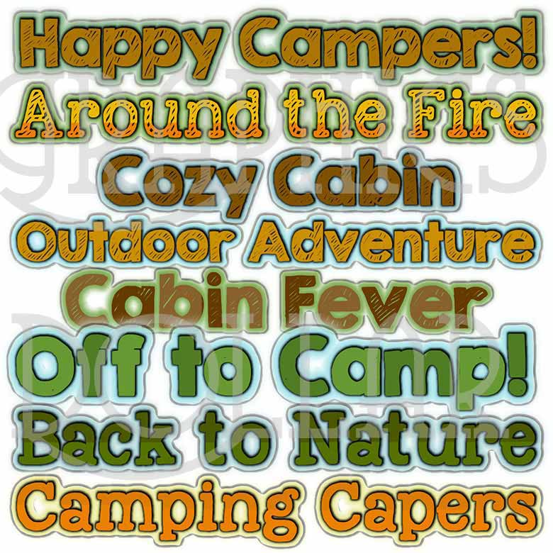 Happy Camper Titles