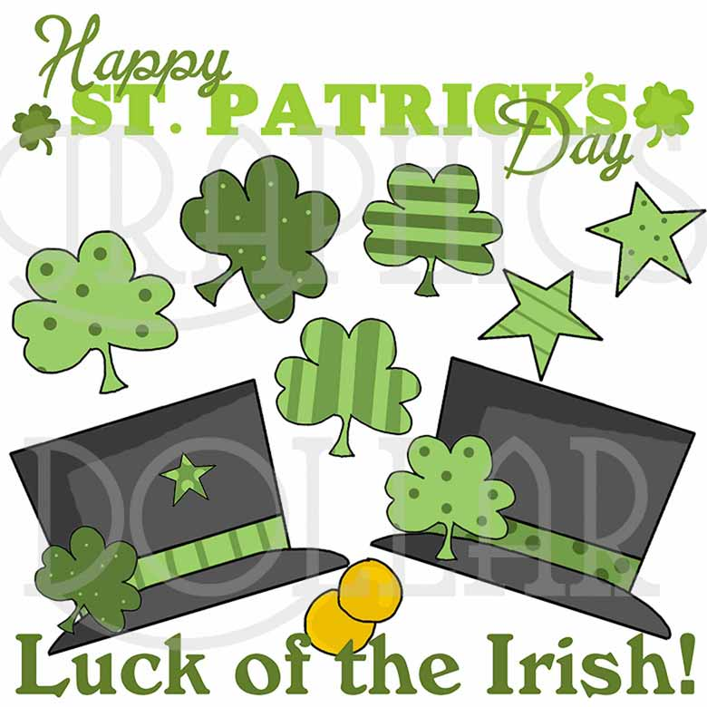 Luck of the Irish Exclusive Clip Art
