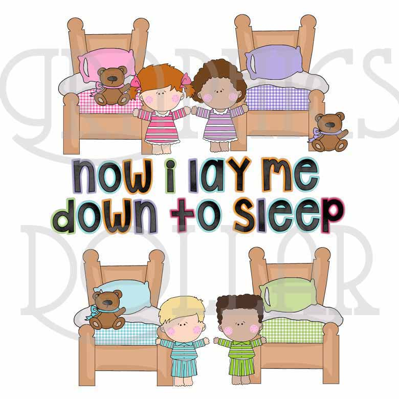 Now I Lay Me Clip Art