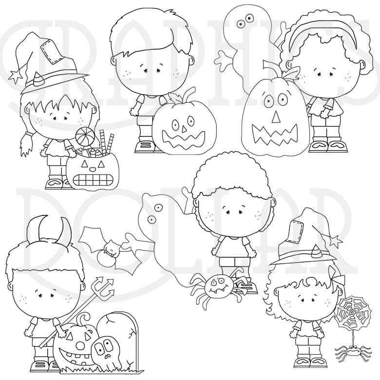 The Munchkin Kids Halloween Graphics Dollar