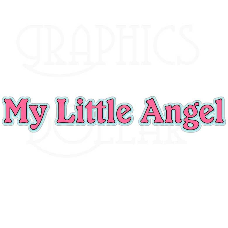 My Little Angel Clip Art