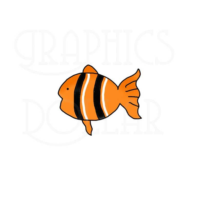 My Pet Fish Clip Art