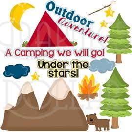 Outdoor Adventure Clip Art