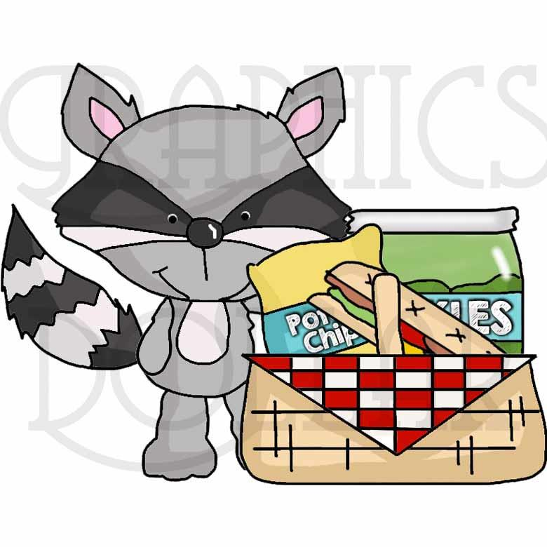 A Picnic in the Park Clip Art