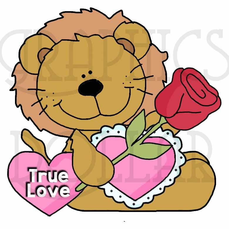 Safari Sitters Valentines Exclusive Clip Art