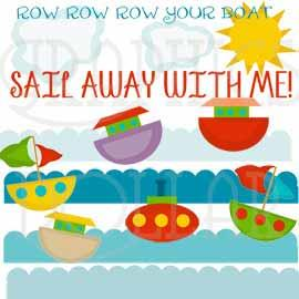 Sail Away Clip Art