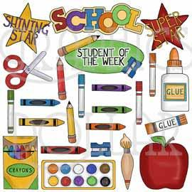 School Days Clip Art