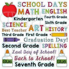 School Days Titles