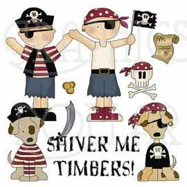 Shiver Me Timbers Clip Art