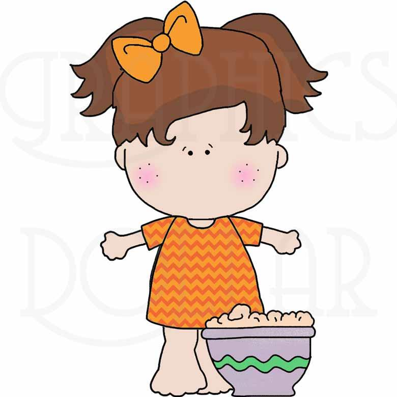 Sleepover Girls Exclusive Clip Art