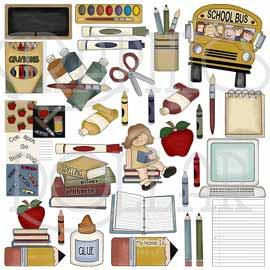 Student of the Week Collection Clip Art