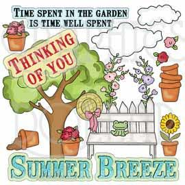 Summer Breeze Clip Art