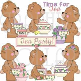 Tea Party Bears