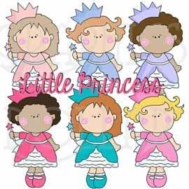 The Little Princess Clip Art